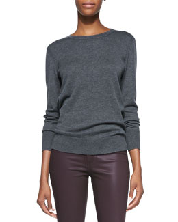 rag & bone/JEAN Natalie Wool Sweater, Charcoal