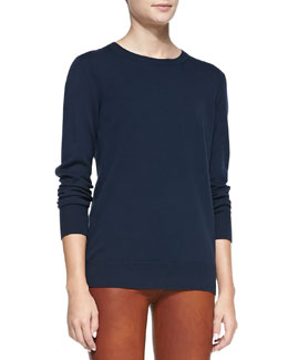 rag & bone/JEAN Natalie Knit Sweater, Navy