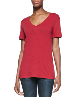 rag & bone/JEAN The Classic V-Neck Jersey Tee