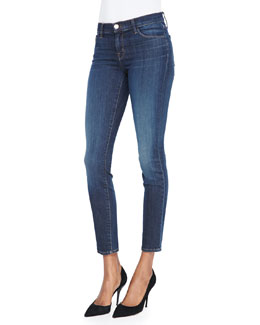 J Brand Jeans 811 Mid-Rise Skinny Jeans, Storm