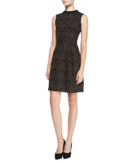 Nanette Lepore I Spy Sleeveless Lace Dress