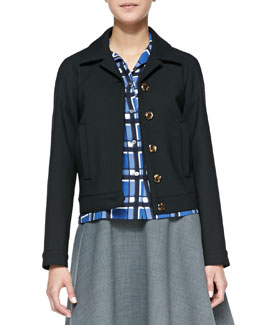 MARC by Marc Jacobs Sixties Wool-Blend Jacket