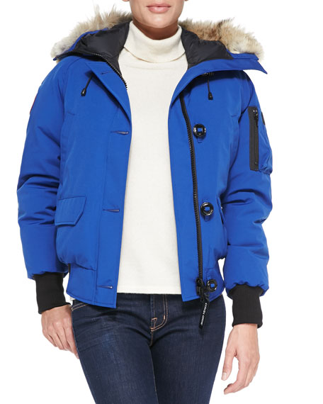 Chilliwack Bomber Jacket with Fur Hood