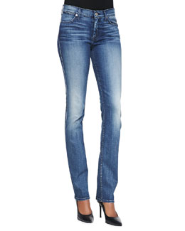 7 For All Mankind Modern Straight Denim Jeans, Lehrouche