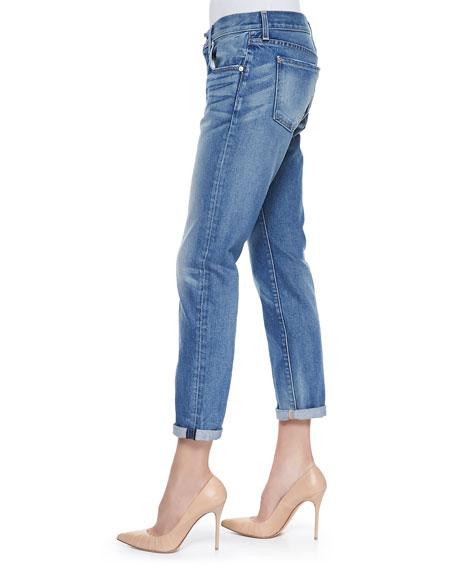Relaxed Skinny Denim Jeans