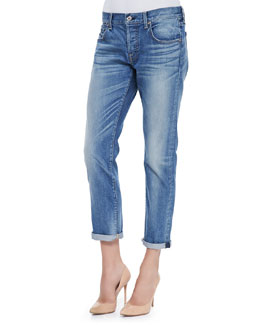 7 For All Mankind Relaxed Skinny Denim Jeans