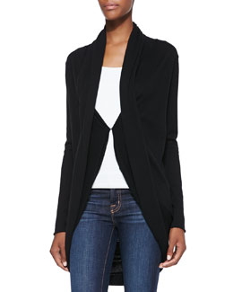 Alice + Olivia Draped Knit Circle Cardigan