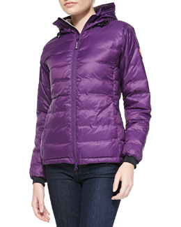 Canada Goose Camp Hooded Puffer Jacket, Arctic Dusk