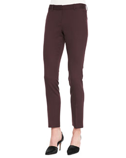 Theory Louise Capture Slim Ankle Pants