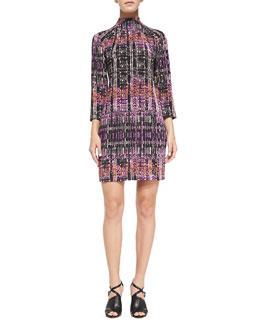 Nanette Lepore Handloom Print Short Dress