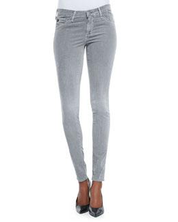 AG Adriano Goldschmied Velvet-Soft Corduroy Skinny Pants