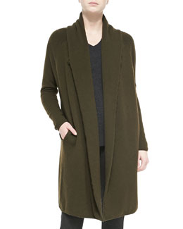 Vince Car Coat Sweater, Foliage