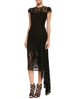 Milly Margaret Floral Lace Dress
