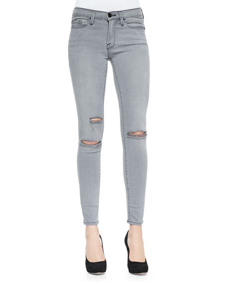 FRAME DENIM Le Skinny Holey Jeans, Warren