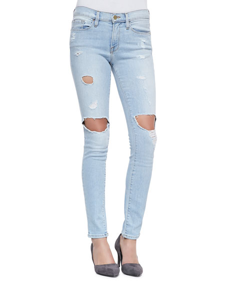 FRAME DENIM Le Skinny De Jeanne Jeans, Nowita