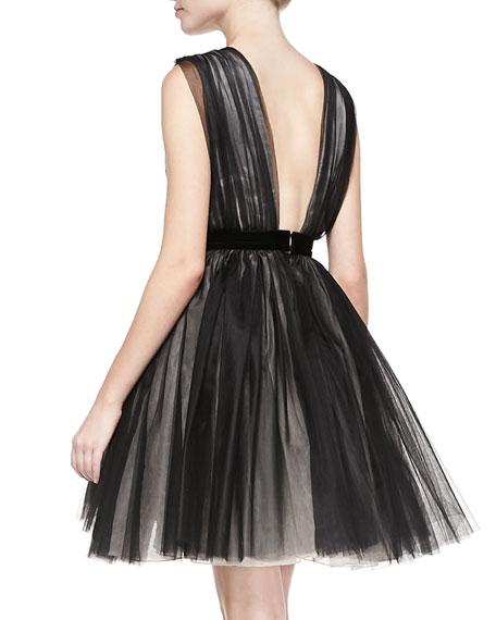 Princess Mesh/Tulle Pouf Dress