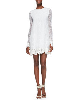 Rachel Zoe Serafina Lace Baby Doll Dress