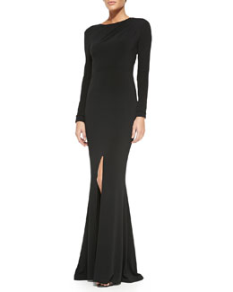 Rachel Zoe Liana Open-Back Maxi Dress