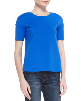 Auden Short-Sleeve Knit Top