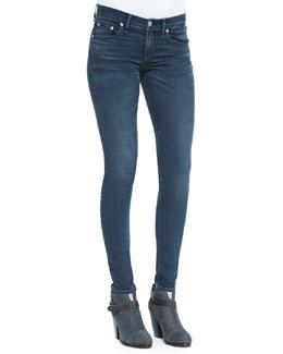 rag & bone/JEAN Skinny Mid-Rise Ankle Jeans