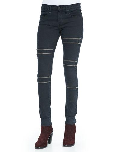 Ordaz Skinny Zipper Jeans