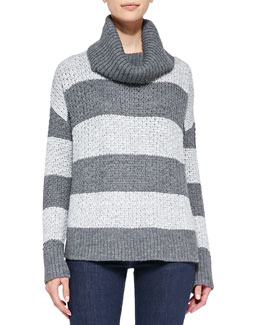 Alice + Olivia Rya Boxy Stripe Sweater