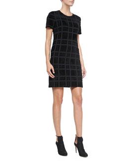 Theory Darmelle PL. Velvet Devore Dress
