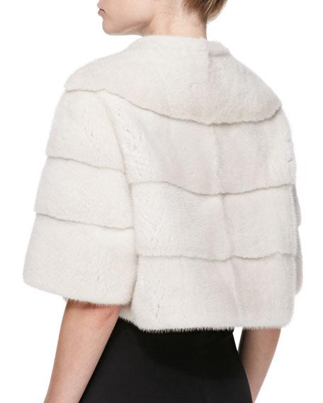 Mink Fur Bolero Jacket