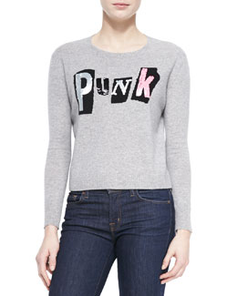 Cashmere Sequined Punk Sweater