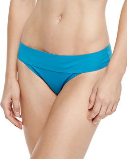 Folded-Waist Swim Bottom