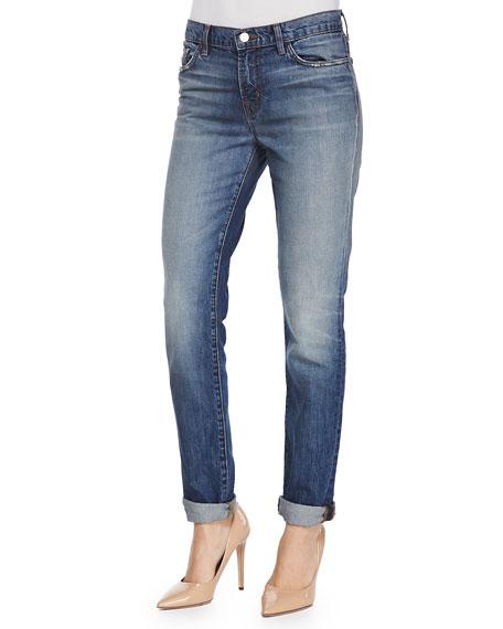 Jake Slim Boy Cuffed Jeans, Adored