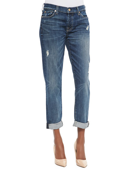 bb37907dfab0ce 7 For All Mankind Josefina Distressed Boyfriend Jeans, Movember