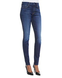 7 For All Mankind Slim Illusion Skinny Jeans, Geneva Blue