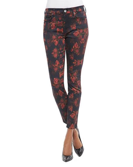 Rough Roses Skinny Jeans