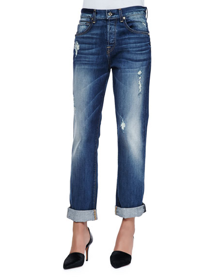 The 1984 Distressed Boyfriend Jeans