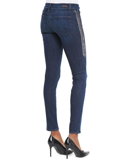 Verdugo Ankle Jeans w/ Lange Dart Sides