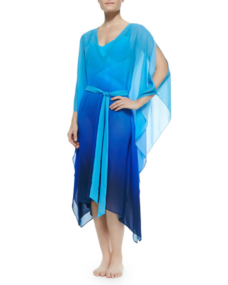 Harmony Tonal Split-Sleeve Caftan, Women's