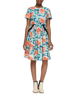 Jerrie Rose Poplin Dress