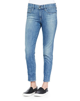 Mason Slim Cropped Jeans, Maritime