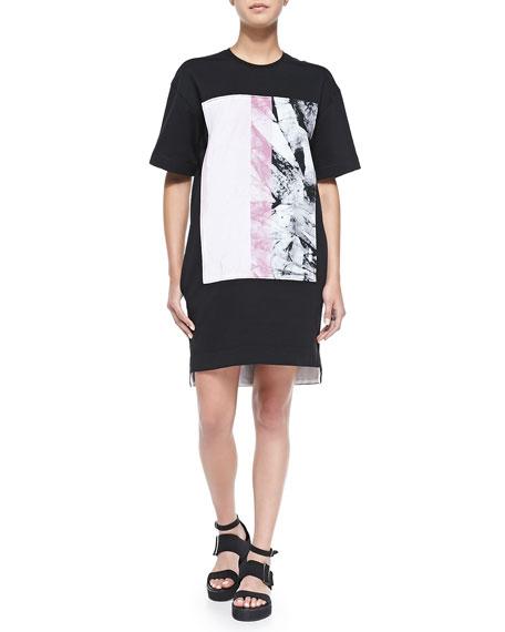 Marble Lang Dress Mason Helmut Print Black Sweatshirt wUETdqxv