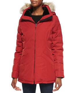 Canada Goose Belmont Fur-Hooded Down Coat