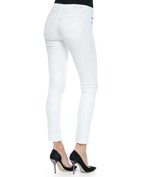 Legging Ankle Skinny, White