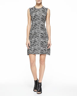 Vimlin Prosecco Sleeveless Space-Dyed Dress