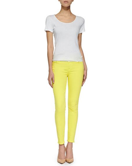 Slim Illusion PDF Brights Skinny Jeans, Blazing Yellow