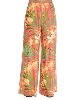 Tropical Fantasy Coverup Pants