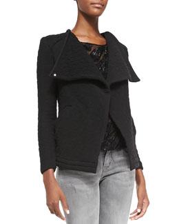 Heddi Patterned Knit Jacket