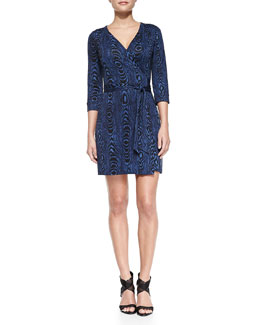 New Julian Two Wrap Minidress