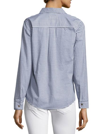 The Slim Boy Shirt, Misty Stripe