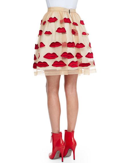 Pout Pouf A-Line Skirt