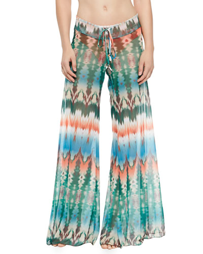 Tie-Dye Coverup Pants